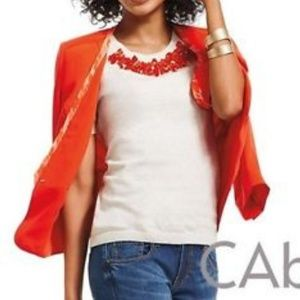 NEW medium Rock candy embellish short sleeve top